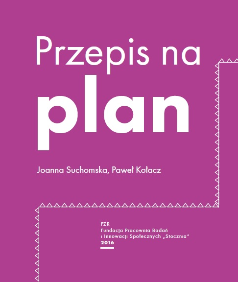 Przepis na plan_okładka