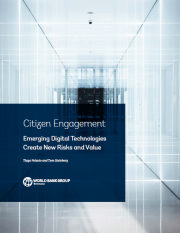 Citizen Engagement: Emerging Digital Technologies Create New Risks and Value